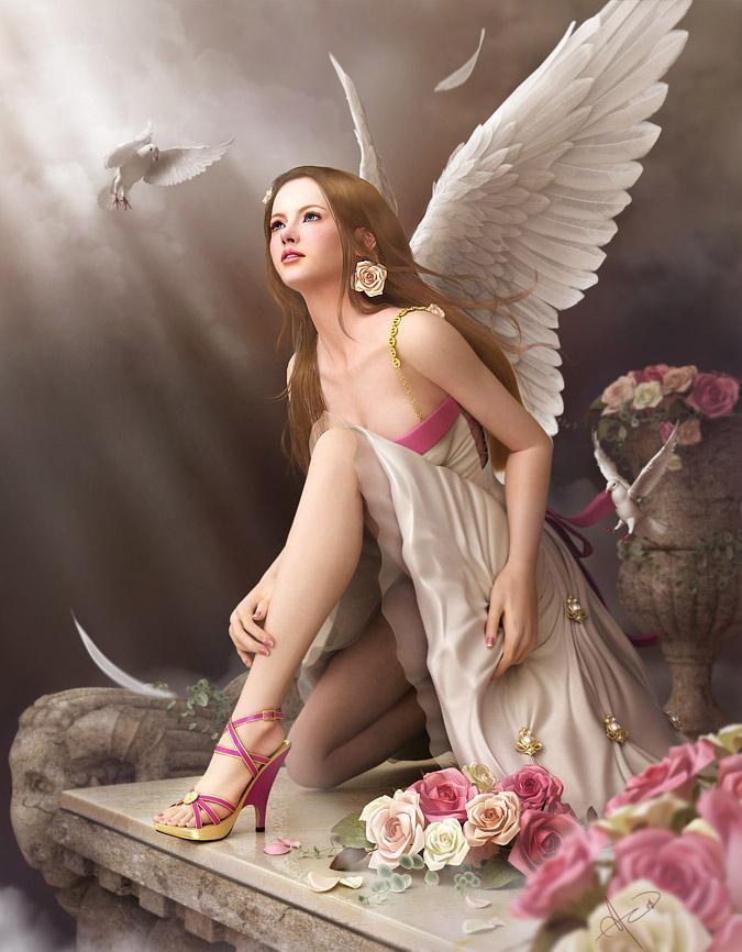 Ange Femme ange femme